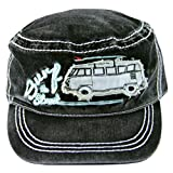 VW Collection by Brisa T1 vintage Cap, schwarz