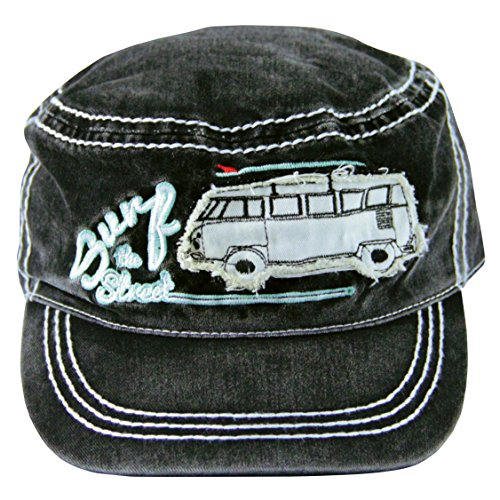 VW Collection by Brisa T1 vintage Cap schwarz