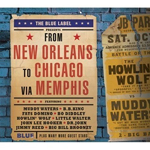 Preisvergleich Produktbild From New Orleans to Chicago Via Memphis