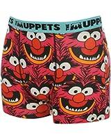 Disney Mens The Muppets Cartoon Single Boxer Shorts Casual Printed Underwear