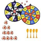 Queta Kids Safe Stof Dart Board Game Set Met 10 Sticky Balls 4 Veiligheid Darts Zelfklevende Doel Sport Indoor Outdoor Toss G
