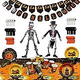 THE TWIDDLERS Komplette Halloween Saisonale Dekoration Party Set, 88 Teile - Alles in einem Packung - Ideal für Mitgebsel und Geschenk/Partytüten Halloween Parties