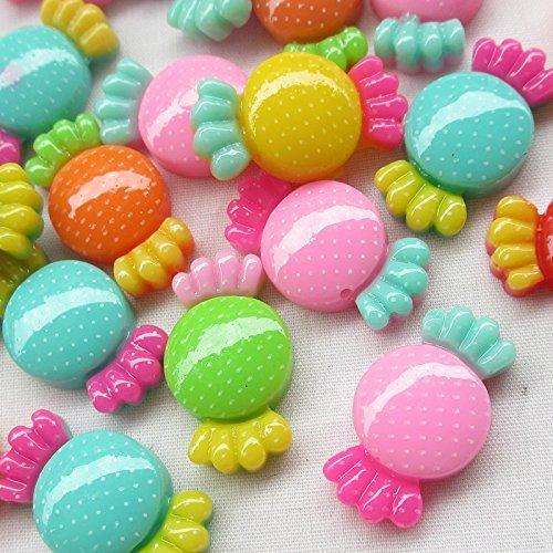 Candy Scrapbooking (chenkou Craft Mix Kunstharz Candy Flatback DIY Scrapbooking Basteln 30Stück)