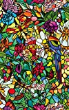 d-c-fix® Sticky Back Plastic (self adhesive vinyl window film) Stained Glass Effect Tulia 45cm x 2m 346-0647