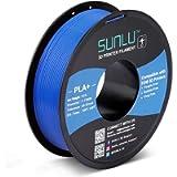 SUNLU PLA Plus 3D-Filament 1,75 mm für 3D-Drucker und 3D-Stifte, 1 kg PLA + Genauigkeit der Filamenttoleranz +/- 0,02 mm…