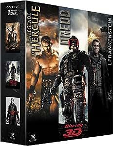Coffret 3D : Dredd + I, Frankenstein + La Légende d'Hercule [Blu-ray 3D]