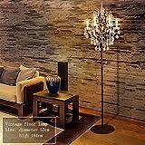 MILUCE Retro stehlampe studie lampe kristall kreative wohnzimmer schlafzimmer hotel lichter