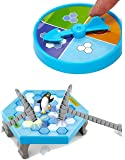Chocozone Mini Table Games Balance Ice Cubes Save Penguin Icebreaker Beating Toys for 5 Years Old Boys & Girls