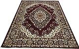 #6: Zia carpets Most Prefer Floral Design Carpet for Living room & Carpet for Bedroom 5.0 X 7.0 Feet (150X 200 cm .) -Brown