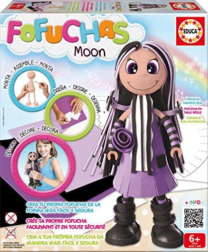 Fofuchas - Moon Moderna, juego creativo (Educa Borrás 16116)