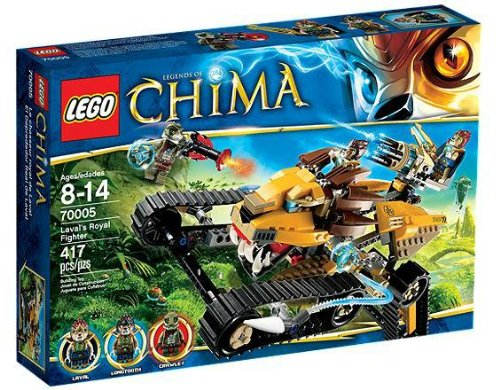 LEGO-Legends-of-Chima-70005-Lavals-Royal-Fighter