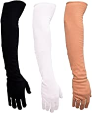 Driving Gloves Full Hand arm sleeves Gloves for Women and Men for Driving, Biking, Cycling , Hiking & Sports, UV Protection, Dust, Polluton and sunburn sunlight protection.