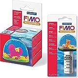 Staedtler FIMO 2er Set Kleine Schneekugel + Bastelschnee (4g)
