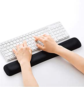 Wrist Pad//Wrist Holder Ergonomic Keyboard Pad Slow Rebound Memory Foam Keyboard Holder Latest Models Bottom Surface Anti-Skid Shengshihuizhong Mouse Pad Wrist Guard Three Colors