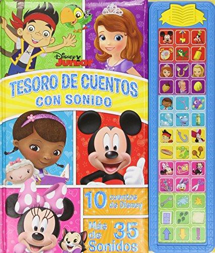 Tesoro De Cuentos Con Sonidos Disney Junior