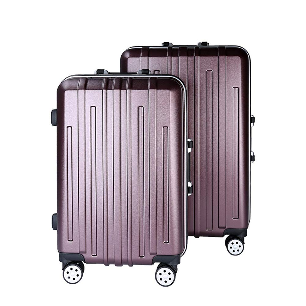 4e77415f04f3 22in 26in 2 Piece Nested Luggage Set Spinner Travel Luggage Trolley Cases  Suitcase Hardshell Lightweight Carry-on Uprights Suitcase 360° Silent ...