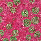 Fuchsia 100% Baumwolle Bali Batik tie dye Muster Stoff für
