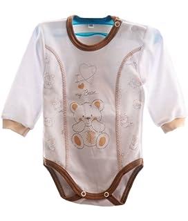 La Bortini Hemdchen 5er Set Paket Baby Wickelshirt Wickelhemdchen Erstlingsshirt Fl/ügelhemd