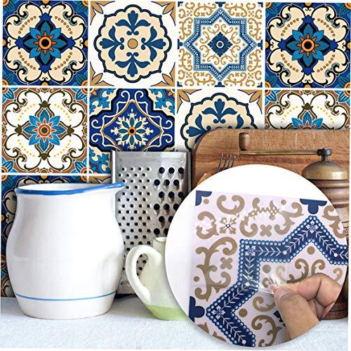Celerhuak Grenzüberschreitende Für Kreative Art Deco Schlafzimmer Wohnzimmer Küche Restaurant Marokkanischen Stil Fliesenaufkleber Neue Wandaufkleber -