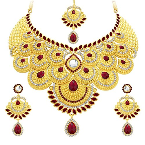 Sukkhi Wedding Collection Jewellery Sets for Women (Golden) (3105NADS1700)