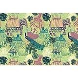 #9: ArtzFolio Ethnic India Art & Craft Gift Wrapping Paper 18 x 12inch;SET OF 10 PCS