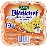 Blédina Blédichef Assiette Hachis Parmentier des Tout Petits dès 12 Mois 230 g