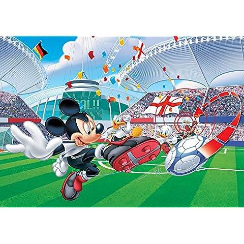 DISNEY LICENCIA 954P8 Wallpaper Sala Mural para niños Disney Mickey Mouse Objetivo Deporte Estadio Multicolor 368 x 254