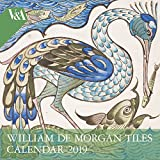 V&A - William de Morgan Wall Calendar 2019 (Art Calendar)