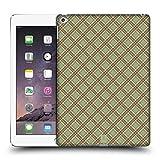 Head Case Designs Hell Grün Rot Plaid - Muster Kollektion Ruckseite Hülle für iPad Air 2 (2014)