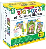 Big Box of Nursery Rhymes: Learn to Say and Sequence 17 Nursey Rhymes While Playing With 90 Puzzle Pieces!