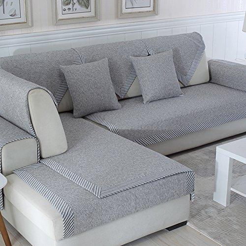 Multi-sofa Schonbezug (Ritaba Baumwolle Für Haustiere Couch Sofa Überwürfe, Anti-rutsch Übergroßen Spitze Couch Sofa Überwürfe Couch-Shield Sofaschoner Verkauft in stück-E 70x150cm(28x59inch))