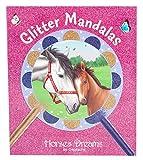 Best Livres à colorier pour les filles - Depesche 5476livre à colorier Glitter Mandalas, Horses Dreams Review