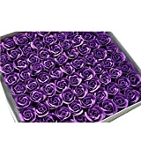 Butterme 81pcs handgemachte Duftbadeseife Rosen-Knospe Blütenblätter Hochzeits -Bevorzugung in GeschenkboxButterme 81pcs Handmade Scented Bath Soap Rose Bud Flower Petals Wedding Favour in Gift Box