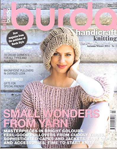 Burda Style spezielle Stricken Crochet Magazin Herbst/Winter 2014 -