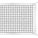 NKTM Professional 42ft Tennis Net Replacement Tennis Net for Outdoor