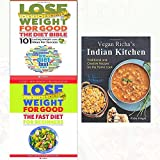 vegan richa's indian kitchen, lose weight for good the diet bible and fast diet for beginners 3 books collection set - weight loss with intermittent fasting,101 lasting weight loss ideas for success