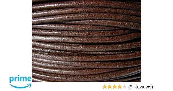Geflochten 3 mm Cream Lederband ab 1,5€//m Lederschnur 10m auf Rolle