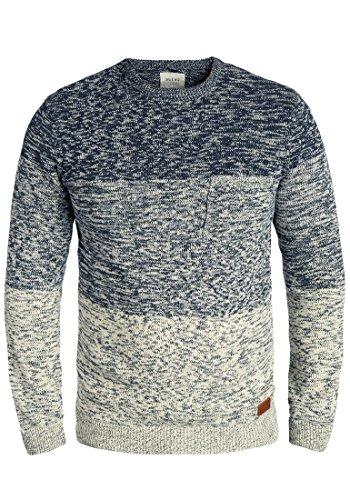Blend garry - maglione da uomo, taglia:l;colore:navy (70230)