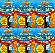 151 Products Kleiderschrank-Luftentfeuchter, 6 Stück