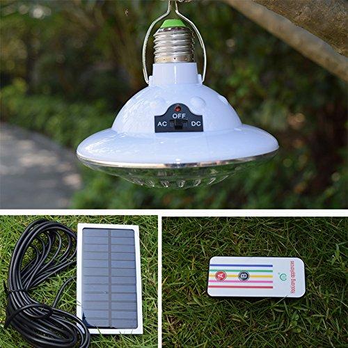 Luci da campeggio, luci per tende,Telecomando portatile Lanterna a LED Ricarica di energia solare Lampada da campeggio esterna Lampada da escursione