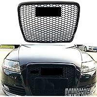 Parachoques delantero para radiador AudiA6 C6 RS6 S6 2005-2011, color negro