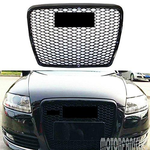 Für A6C6RS6S62005–2011Frontgrill Bumper schwarz trim Radiator Grill