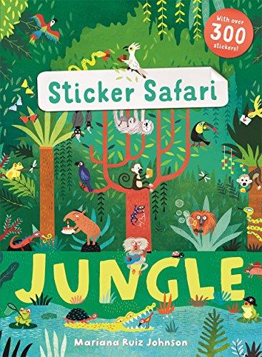 Sticker Safari: Jungle por Ruth Symons