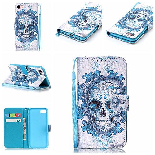 Eine Vielzahl von Farben XFAY HX-455 iPhone 6 Handyhülle Case für iPhone 6 Hülle im Bookstyle, PU Leder Flip Wallet Case Cover Schutzhülle für Apple iPhone 6-5 Farbe-9