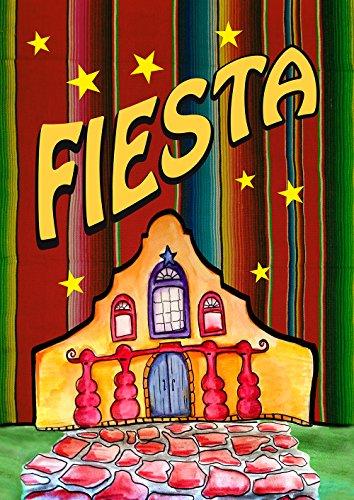 Toland Home Gartenflagge Geburtstag Casa Fiesta Garden Flag-12.5