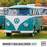 DuMonts Bullikalender - Kalender 2019 - DuMont-Verlag - Wandkalender mit kultverdächtigen Bulli-Modellen - 24 cm x 24 cm