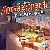 Frosted Games FRG00011 Ausgespielt-Der Messe-Krimi, Brettspiel