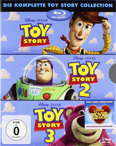 Toy Story 1-3 - Die komplette Toy Story Collection [Edizione: Germania]