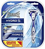 Wilkinson Sword Hydro 5 Vorteilspack, 5 Klingen plus Rasierer
