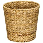 Perfect for vanities and bathrooms, this wicker waste bin is an attractive, naturally vibrant addition to your space. Keep one in the office for paper waste and brighten your work environment with a little touch of the outdoors. Hand-woven and pro...